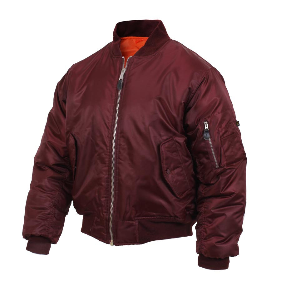 Jacket ULTRA FORCE MA1 FLIGHT MAROON ROTHCO 7327 L-11