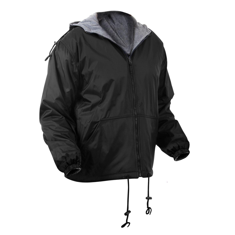 Reversible hooded jacket BLACK ROTHCO 8263BLK L-11
