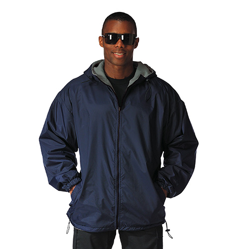 Reversible jacket with hood BLUE ROTHCO 8263NAVY L-11
