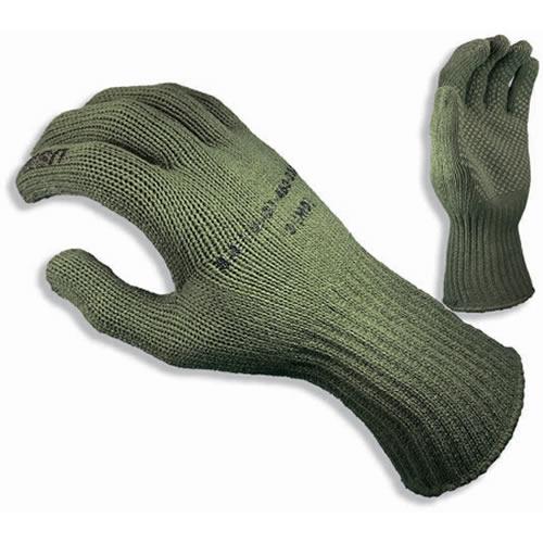 Thermolite ® knitted gloves USMC OLIVE MANZELLA TS40-USMC L-11