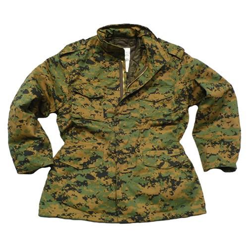 U.S. M65 jacket with liner DIGITAL WOODLAND ROTHCO 8590 L-11