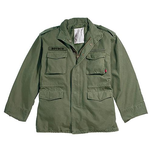 Jacket U.S. M65 VINTAGE GREEN ROTHCO 8603 L-11