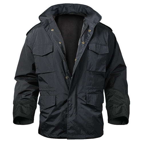 Jacket M65 STORM BLACK ROTHCO 8644 L-11