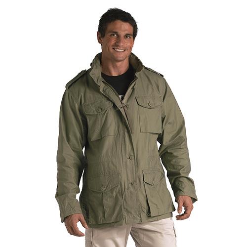 Lightweight jacket VINTAGE U.S. M65 SAGE ROTHCO 8731 L-11