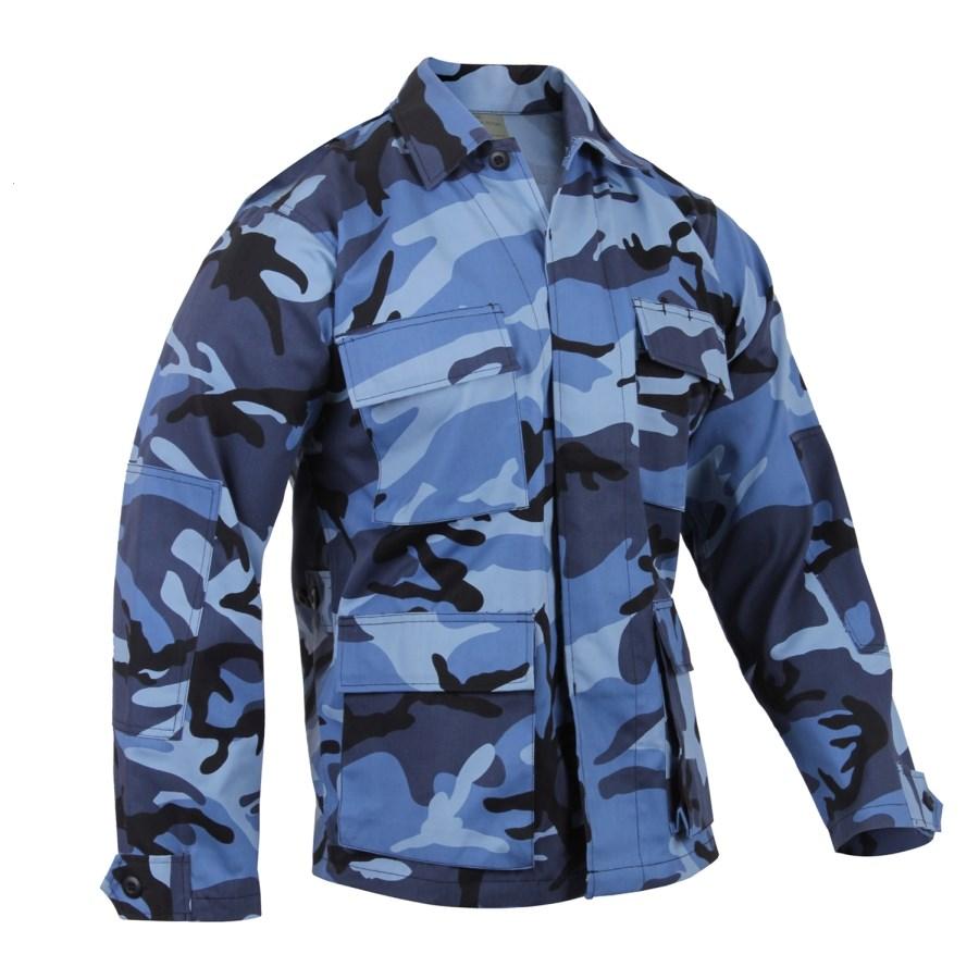Shirt U.S. BDU type SKYBLUE ROTHCO 8882 L-11