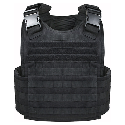 MOLLE carrier plates BLACK ROTHCO 8922 L-11