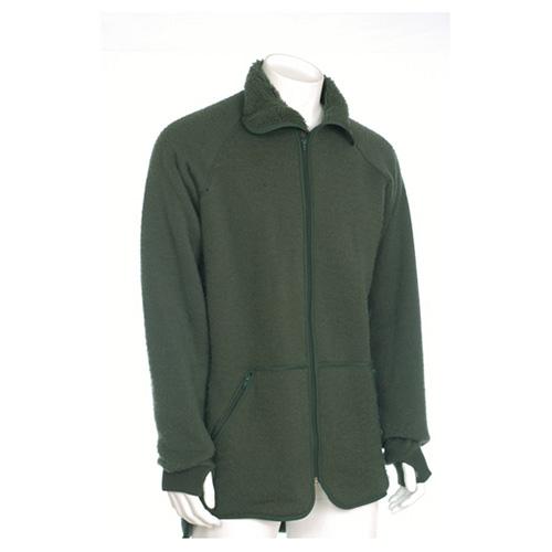 Dutch fleece jacket OLIVE used Dutch Army 91085100 L-11