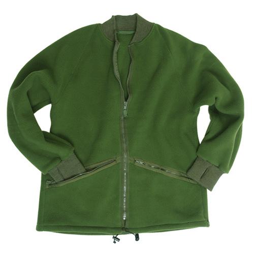 British fleece jacket OLIVE used British Army 91085500 L-11