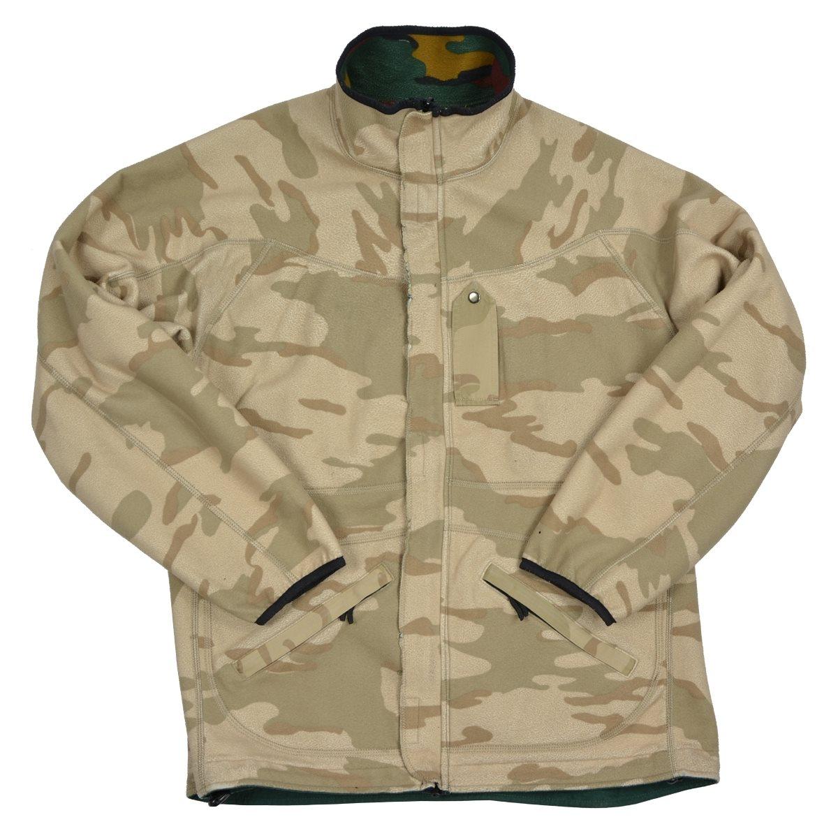 Belgian reversible fleece jacket used Armáda Belgická 91085560 L-11