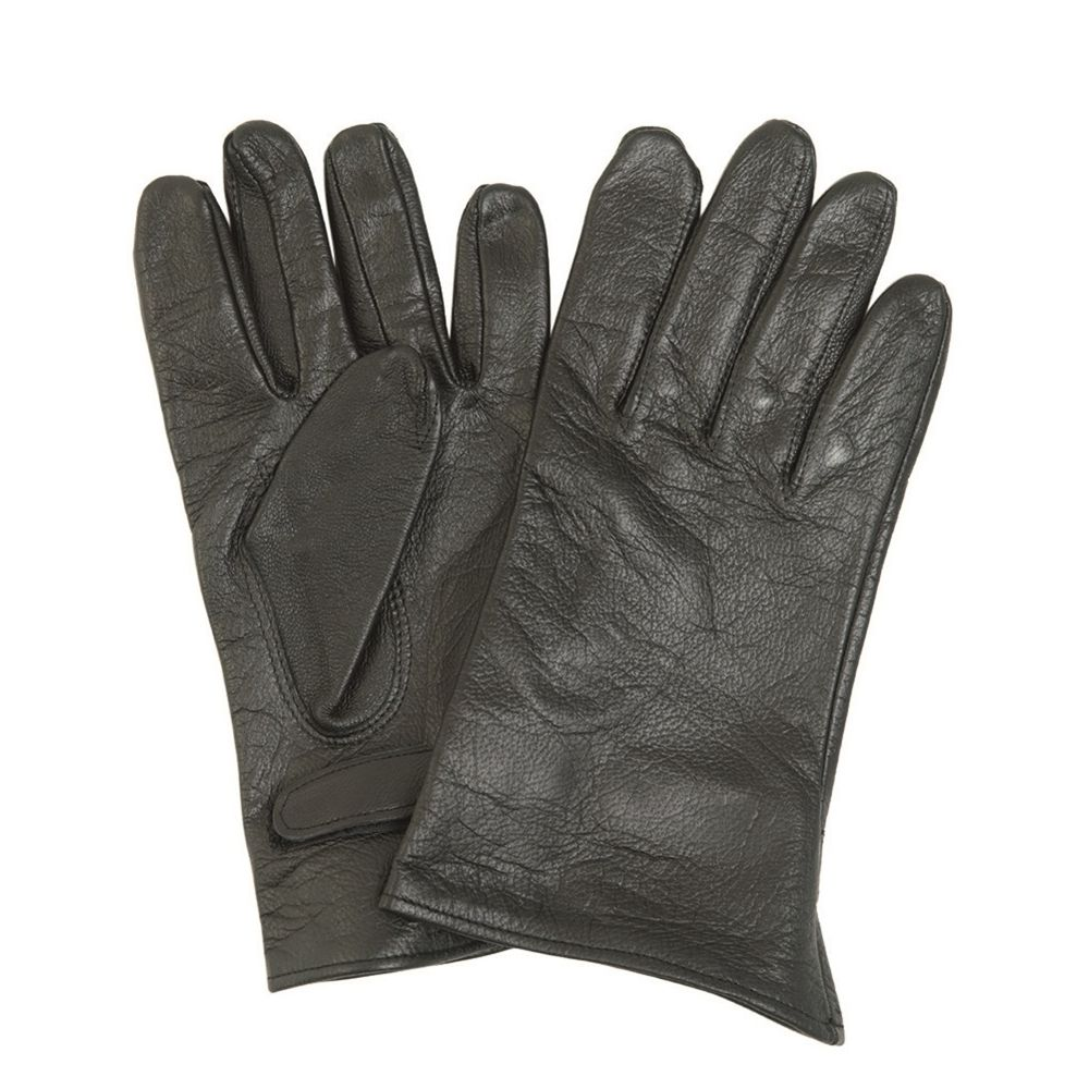 FRENCH Leather Gloves Used French Army 91259300 L-11