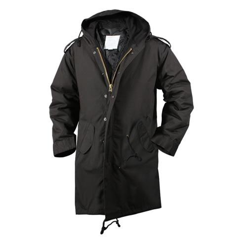 Jacket M-51 Fishtail BLACK ROTHCO 9464 L-11