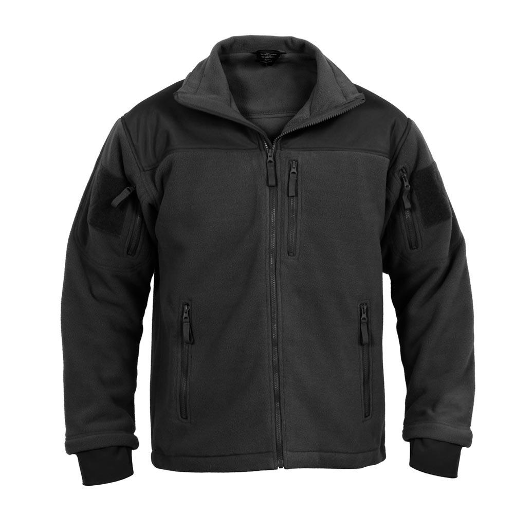Fleece jacket SPEC OPS BLACK ROTHCO 96670 L-11