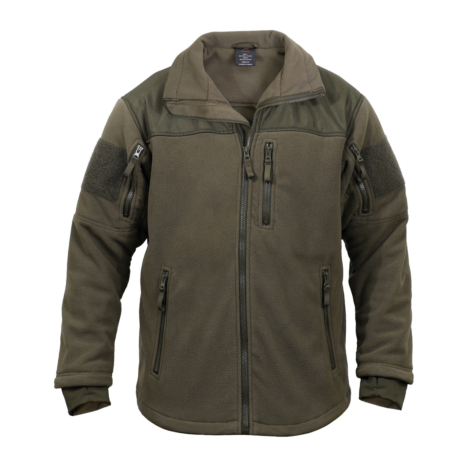 Fleece jacket SPEC OPS OLIVE DRAB ROTHCO 96675 L-11