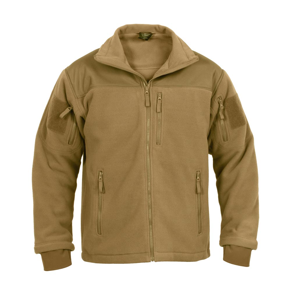 Fleece jacket SPEC OPS COYOTE ROTHCO 96680 L-11