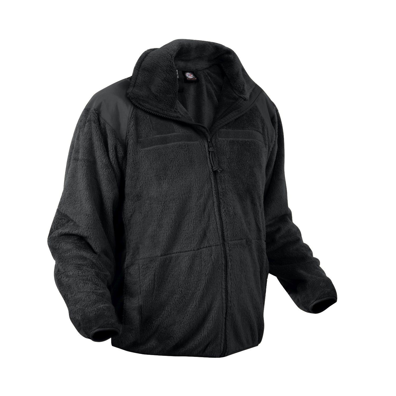Fleece jacket GEN III / LEVEL 3 ECWCS BLACK ROTHCO 9739 L-11