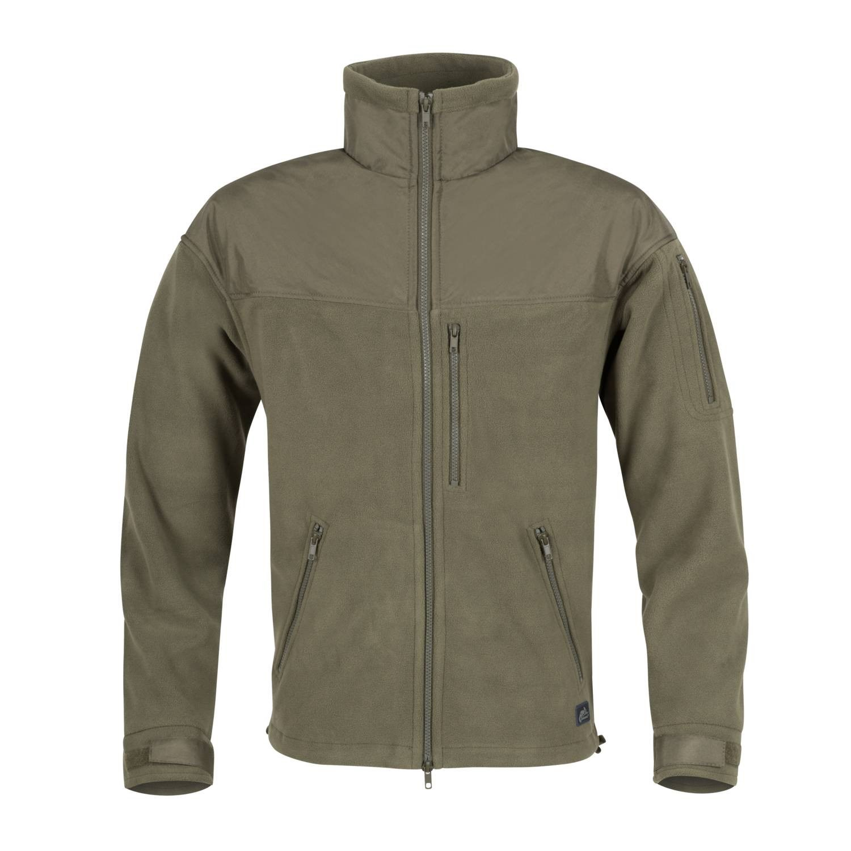 Fleece jacket CLASSIC ARMY OLIVE Helikon-Tex® BL-CAF-FL-02 L-11