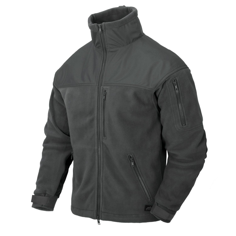 Fleece jacket CLASSIC ARMY SHADOW GREY Helikon-Tex® BL-CAF-FL-35 L-11