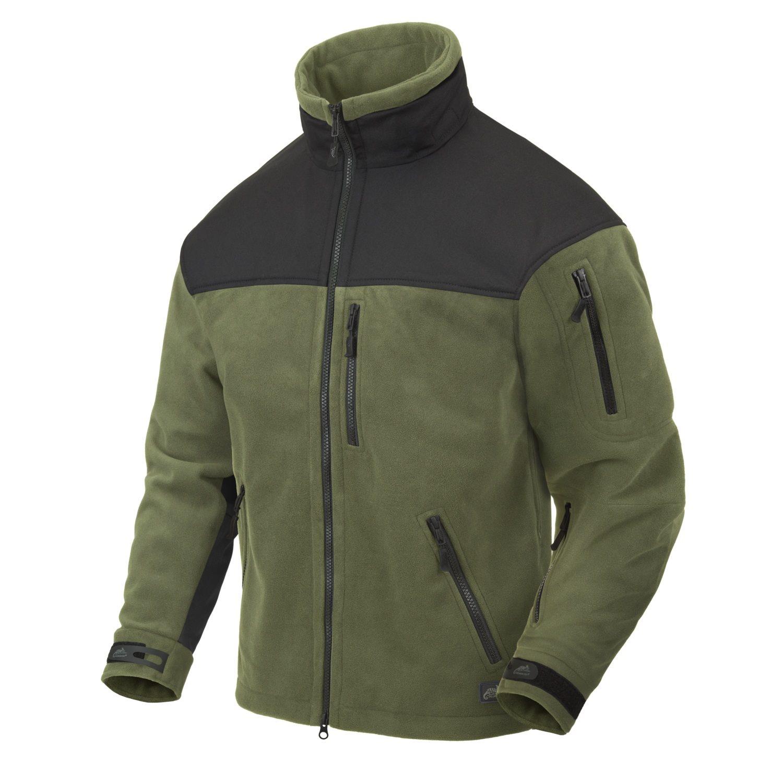 WINDBLOCKER Jacket CLASSIC ARMY OLIVE / BLACK Helikon-Tex® BL-CAF-FM-16 L-11