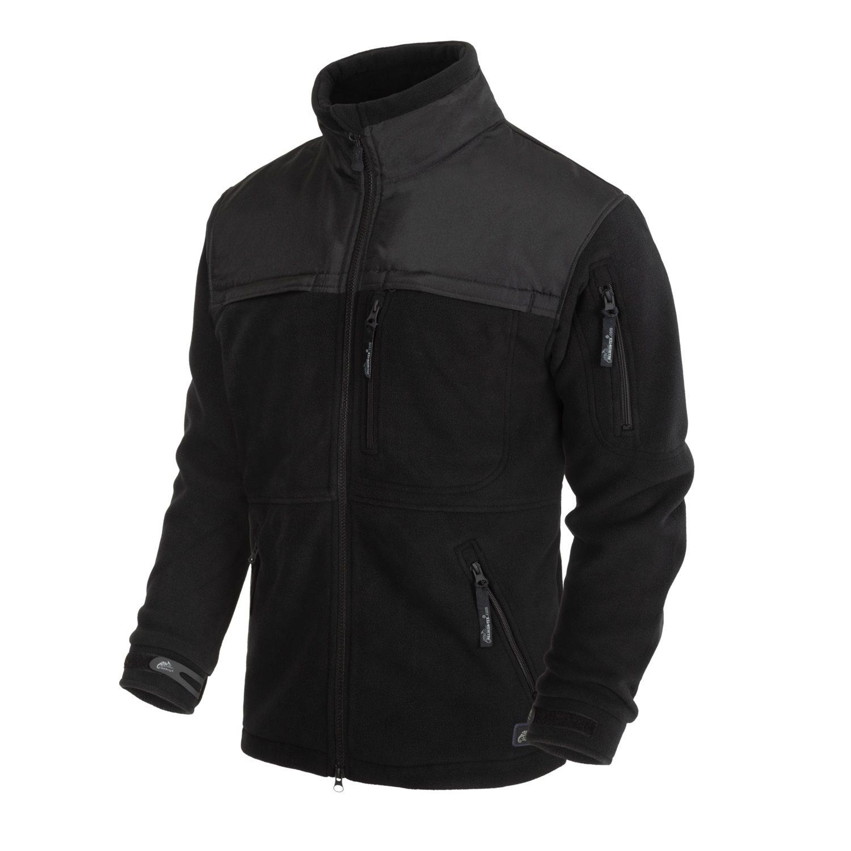 Jacket DEFENDER fleece BLACK Helikon-Tex® BL-DEH-HF-01 L-11