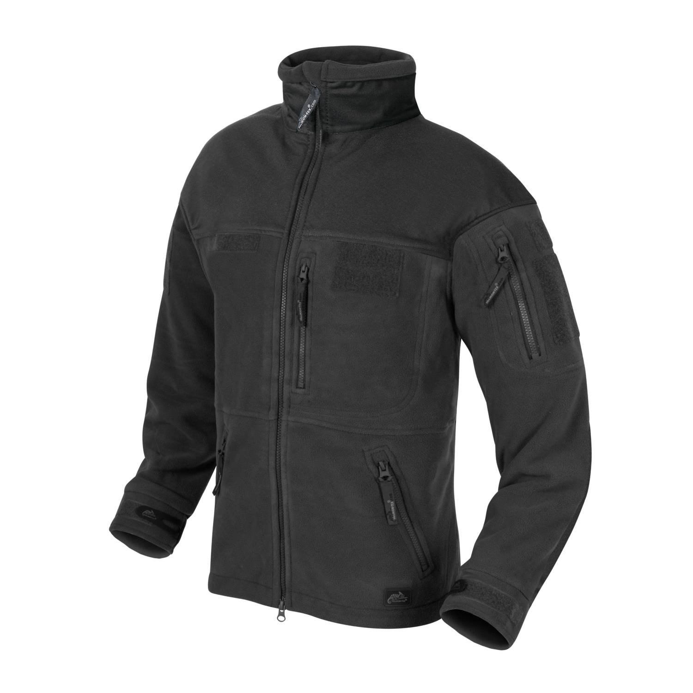 INFANTRY fleece jacket BLACK Helikon-Tex® BL-INF-HF-01 L-11