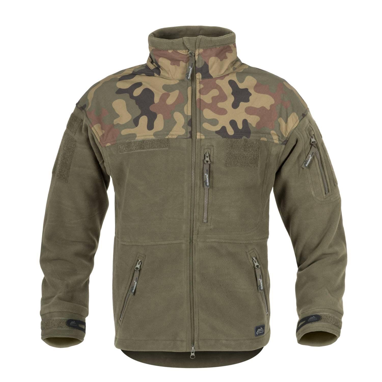 INFANTRY Fleece Jacket OLIV/POLISH WOODLAND Helikon-Tex® BL-INF-HF-18 L-11