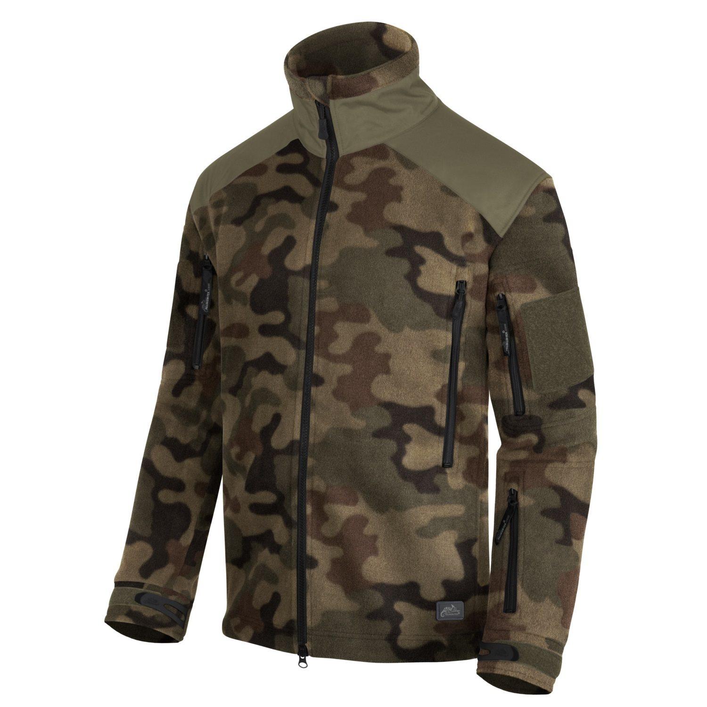 Liberty Heavy Fleece Jacket PL WOODLAND Helikon-Tex® BL-LIB-HF-04 L-11