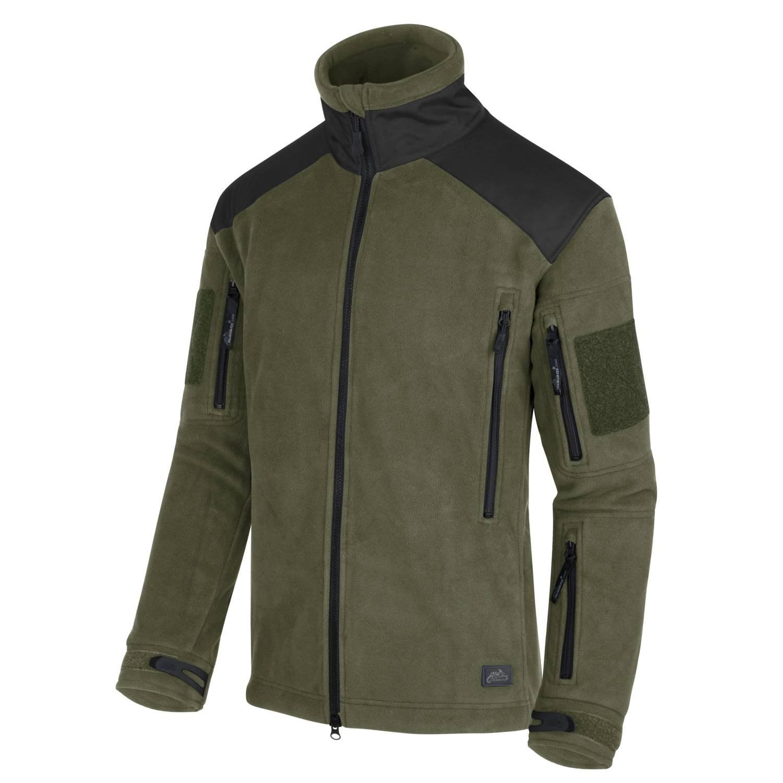 Liberty Heavy Fleece Jacket OLIVE / BLACK Helikon-Tex® BL-LIB-HF-16 L-11