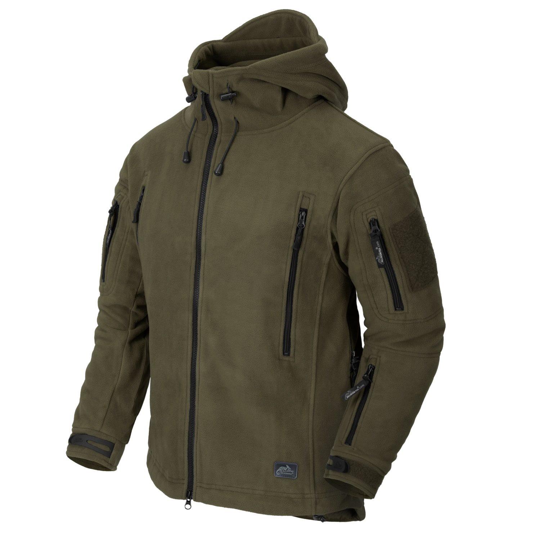 Patriot Heavy Fleece Jacket OLIVE Helikon-Tex® BL-PAT-HF-02 L-11