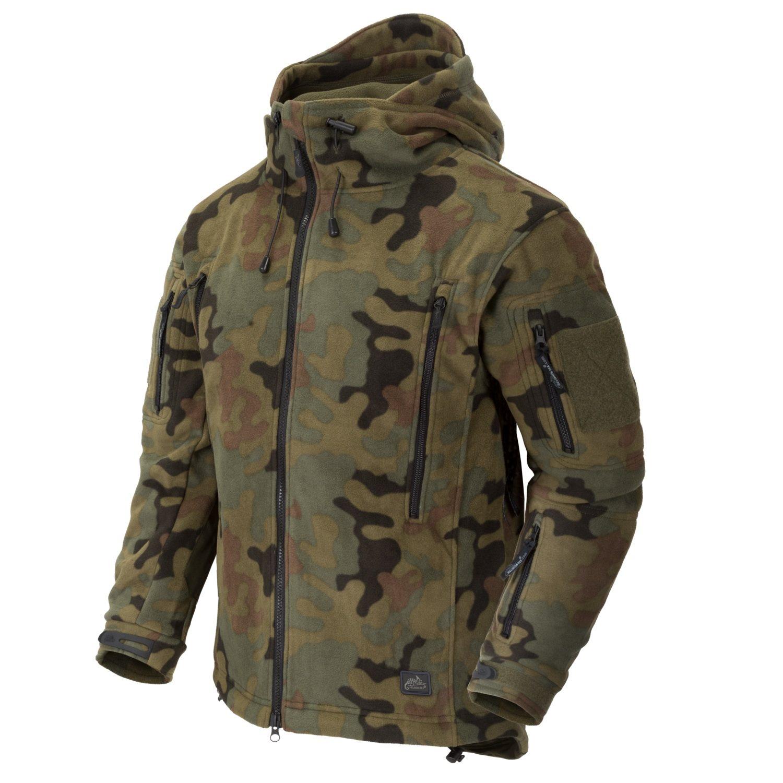 Heavy fleece jacket PATRIOT PL WOODLAND Helikon-Tex® BL-PAT-HF-04 L-11