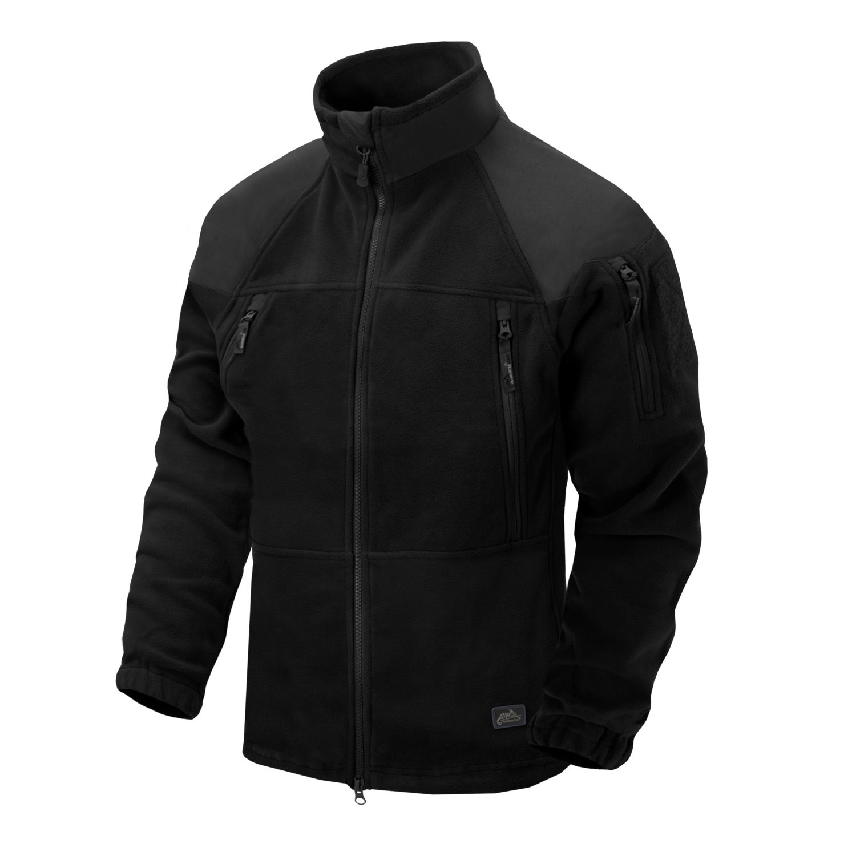 Jacket STRATUS® HEAVY FLEECE BLACK Helikon-Tex® BL-STC-HF-01 L-11