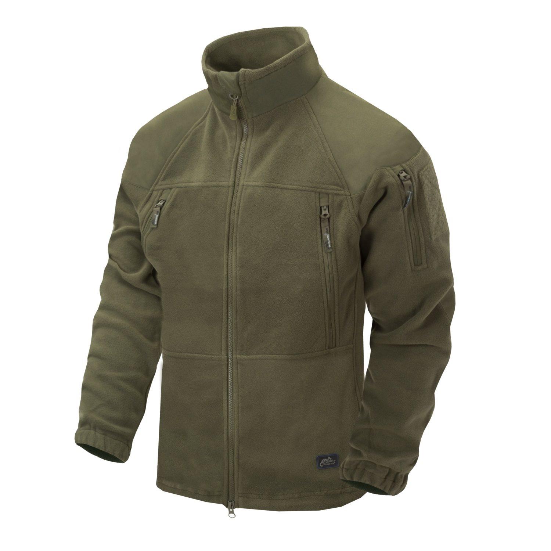 Jacket STRATUS® HEAVY FLEECE OLIVE GREEN Helikon-Tex® BL-STC-HF-02 L-11