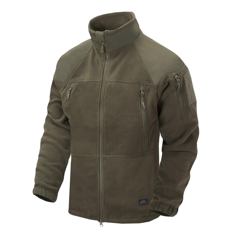 Jacket STRATUS® HEAVY FLEECE TAIGA GREEN Helikon-Tex® BL-STC-HF-09 L-11