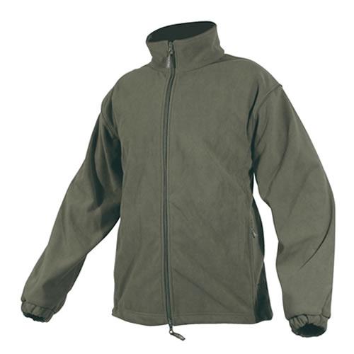 Fleece jacket with a waterproof membrane OLIVE JACK PYKE JJKTFLG L-11