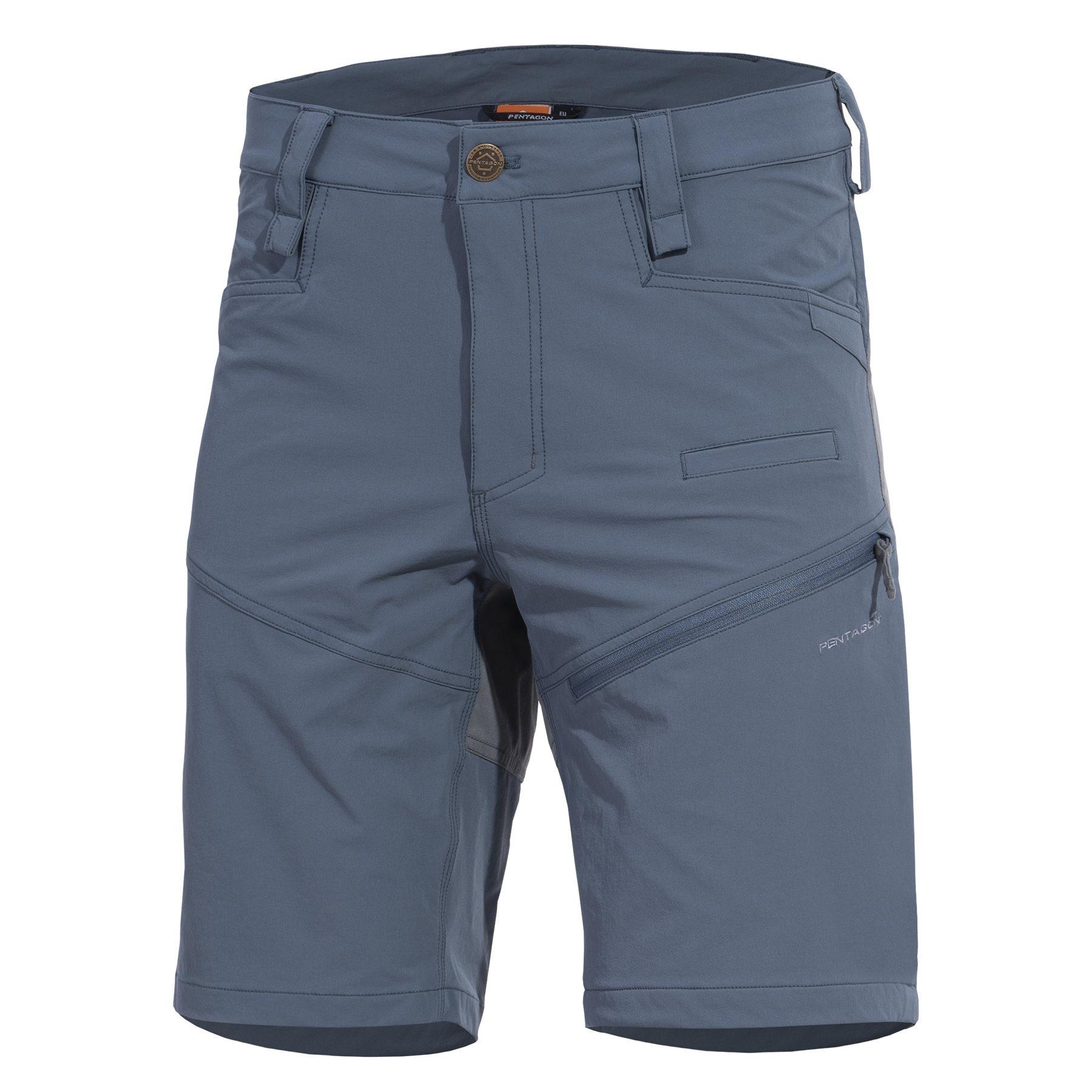 Shorts RENEGADE SAVANNA CHARCOAL BLUE PENTAGON K05049-76 L-11