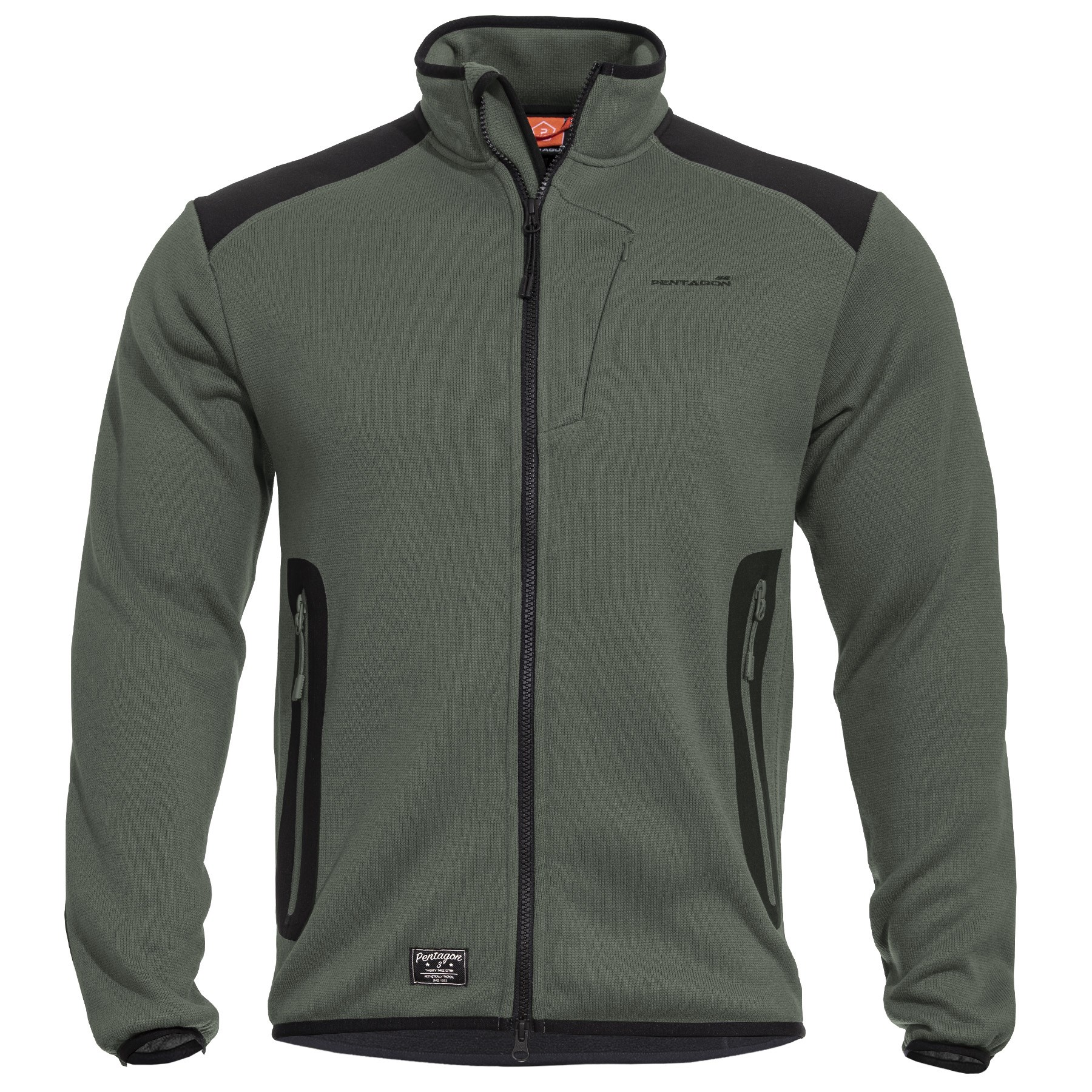 AMINTOR Fleece Sweater CAMO GREEN PENTAGON K08028-06CG L-11
