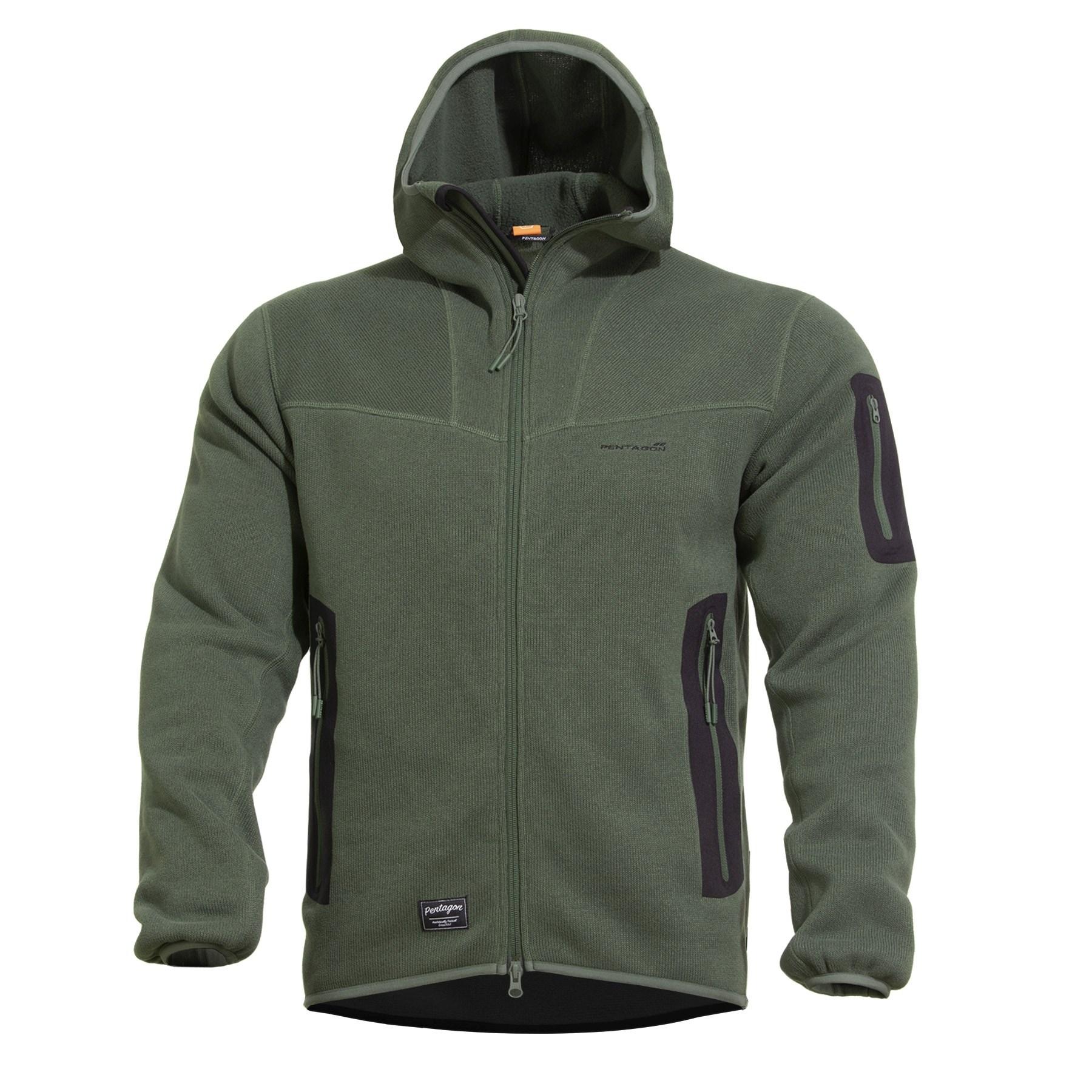 Falcon Pro Sweater CAMO GREEN PENTAGON K08036-06CG L-11
