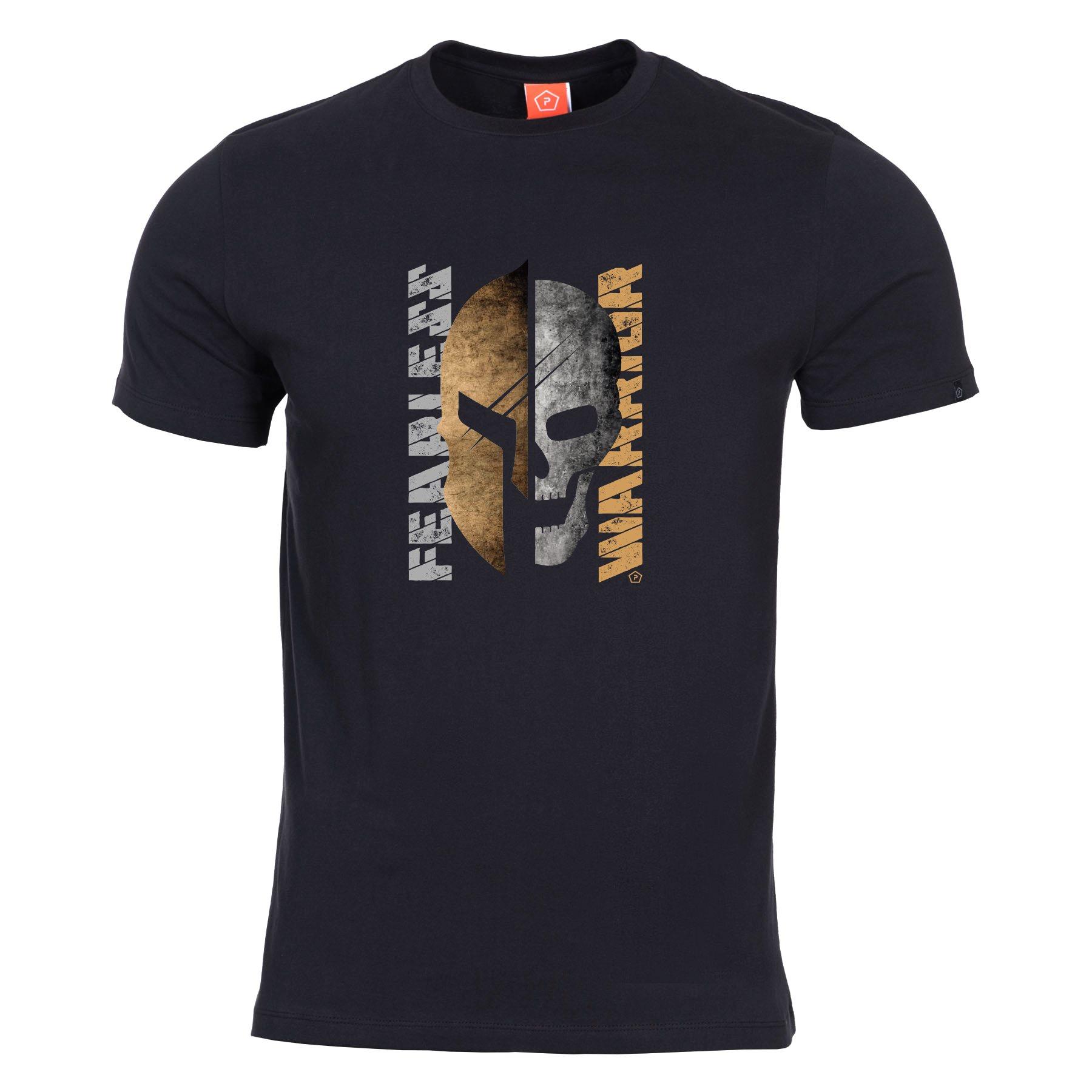 T-shirt FEARLESS WARRIOR BLACK PENTAGON K09012-FE-01 L-11