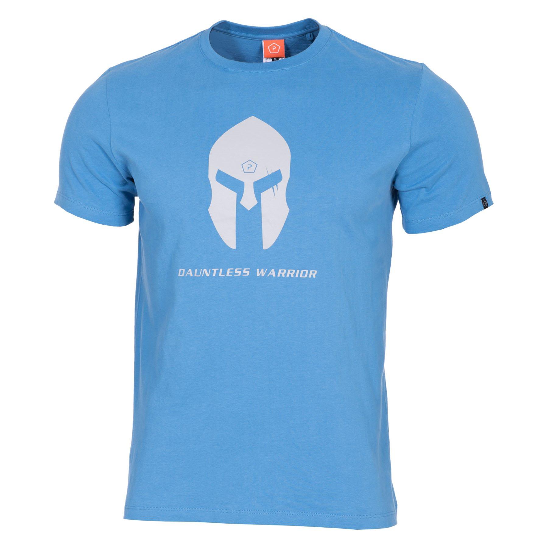 T-shirt SPARTAN HELMET PACIFIC BLUE PENTAGON K09012-SH-25 L-11
