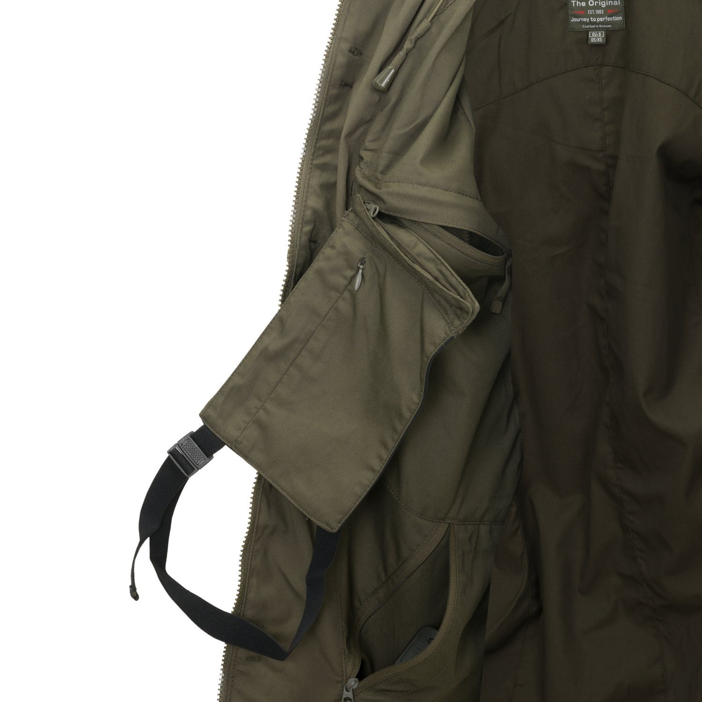 Jacket COVERT M-65 TAIGA GREEN Helikon-Tex® KU-C65-DC-09 L-11