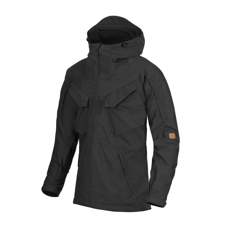 Jacket anorak PILGRIM BLACK Helikon-Tex® KU-PGM-DC-01 L-11