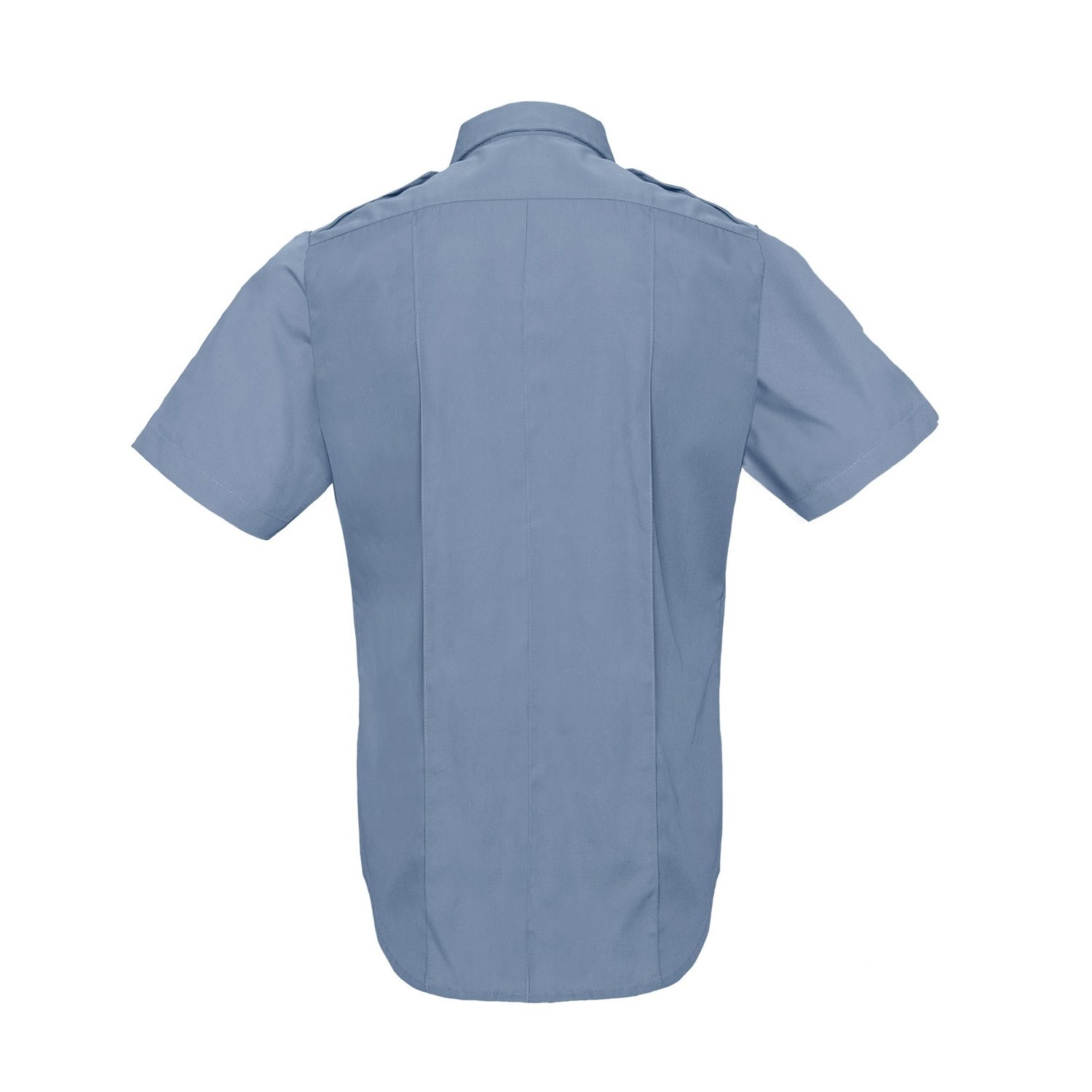 POLICE AND SECURITY shirt short sleeve light blue ROTHCO 30025 L-11