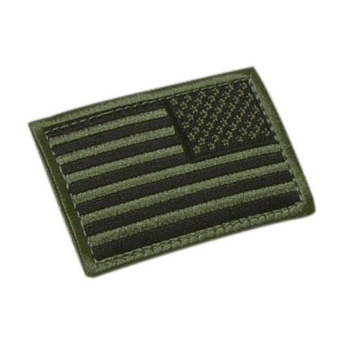 Flag reverse applique U.S. OLIVE CONDOR OUTDOOR 230-001-R L-11