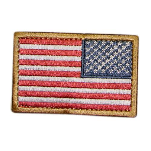 U.S. Flag reverse applique color CONDOR OUTDOOR 230-004-R L-11