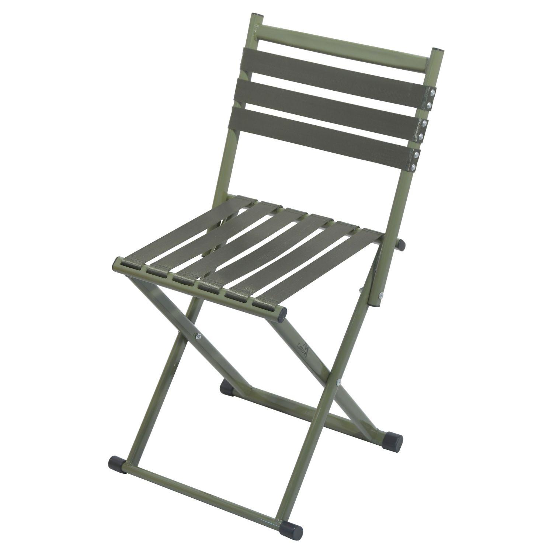 Folding chair with backrest ARMY NATURE ostatní 13437 L-11