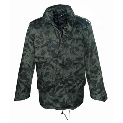 Jacket M65 with liner RUSSIAN TAIGA CAMO