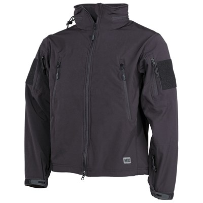 SCORPION Softshell Jacket BLACK