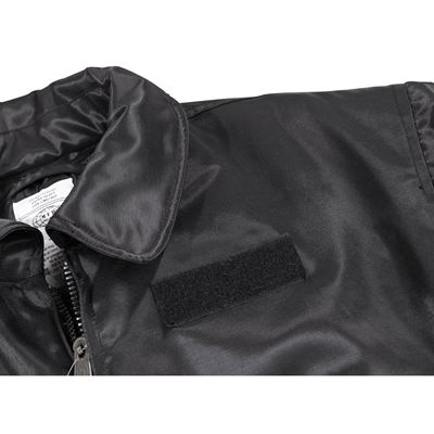 Jacket CWU solid material BLACK
