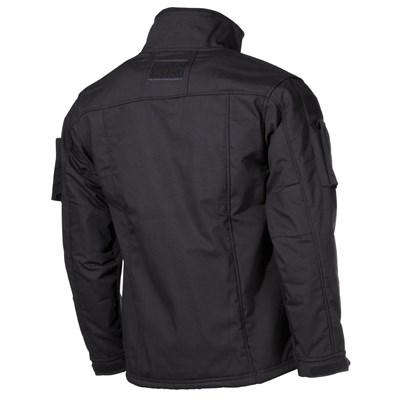 Tactical fleece jacket COMBAT BLACK