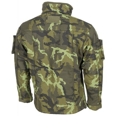 Tactical fleece jacket COMBAT czech CAMO 95