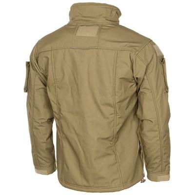 Tactical fleece jacket COMBAT COYOTE